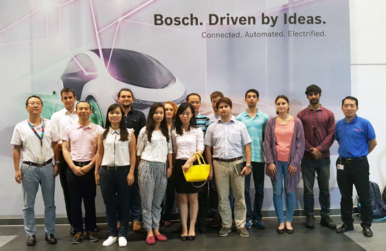 Comany visit at Bosch China
