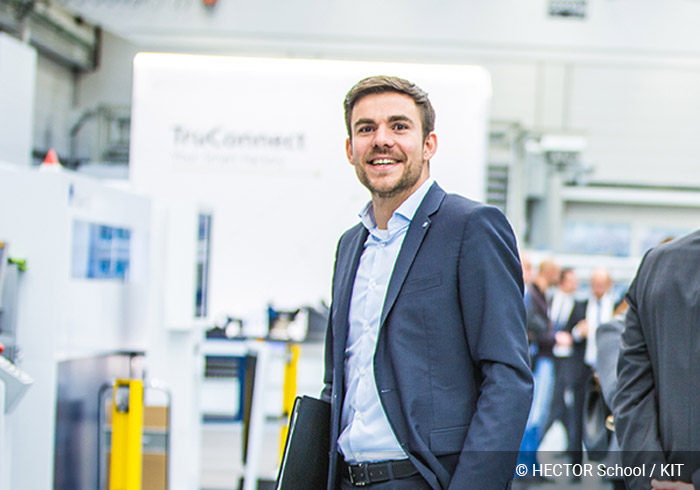 Philipp Schüll, Head of Inhouse Consulting Office at TRUMPF